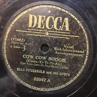 Ella Fitzgerald Ink Spots Cow Cow Boogie That's The Way It Is DECCA 25047