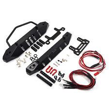 Yeah Racing Axial SCX10 Aluminum Front & Rear Bumper Set W/ LEDS's YA-0431