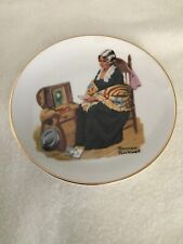 Memories By Norman Rockwell. Decorative Plate by Norman Rockwell Museum. 1984.