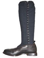FAUSTO SANTINI Sock Boots Fabric Leather US 8.5 EU 38.5