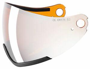 Uvex HLMT 300 Skihelm visor ltm silver Ersatzscheibe Ersatzglas Visier Helm