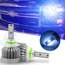 9006 HB4 Blue 8000K LED Headlight Conversion Kit Low Beam For Chevrolet Dodge