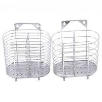 Stainless Steel Chopsticks Holder Suction Cup Kitchen Storage Racks YD