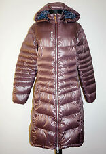 Lafuma Goose Down Parca Puffa Long Hooded Jacket , Size:XL(runs smaller M/L)