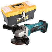 Makita DGA452 18V Angle Grinder 115mm With 16inch/41cm Tool Storage Box