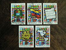 Venezuela Mi.-Nr. 1897-1901, Venezuela in Amerika kpl. gest.