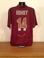 Arsenal Home Shirt 2005/06 XL *HENRY 14* Rare Vintage Highbury Limited Edition