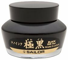 Sailor Pen fountain pen pigment bottle ink 13-2001-220 Black Japan F/S