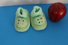 Infant Baby Boy or Girl~Funny Froggy~SLIPPERS Booties~Size up to 10 Months~Green