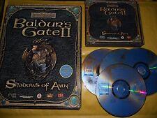 PC GAME-BALDUR'S GATE 2-II-SHADOWS OF AMN-BOXATO-Gioco-Games-BIG BOX-ITA
