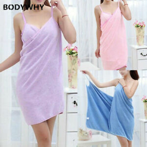 2020 Home New Women's Robe Bath Towel Skirt Girls Pajamas Top Hot Nightdress