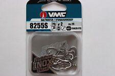 Saltwater fly hooks VMC8255s Stainless steel, Superb sharp hooks! 25pk