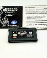 Star Wars Trilogy Apprentice Of The Force - Nintendo Gameboy Advance GBA, Tested