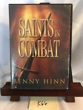 SAINTS IN COMBAT By Benny Hinn! 3 DISC SET! FREE SHIPPING! K66