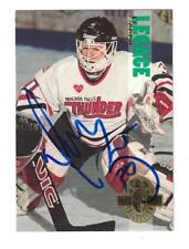 Manny Legace AUTOGRAPH CLASSIC ROOKIE HOCKEY CARD SIGNED DETROIT RED WINGS
