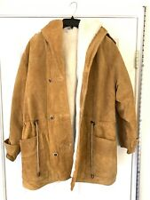 Charles Klein Genuine Leather Suede Jacket