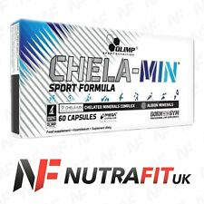 Olimp Chela-min Sport Formula 15 - 60 Mega Caps Chelated Minerals Complex
