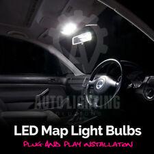 VW Golf MK4 & GTI 1998-2004 Blanco Interior LED Bombilla mapa Upgrade Kit * Venta *