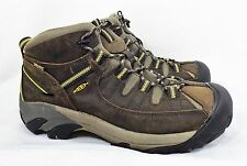Keen Hiking Trail Shoes Boots Men 11.5 Targhee II Waterproof Leather Athletic