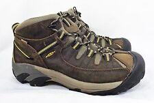 Keen Hiking Trail Shoes Boots Men 11.5 Targhee II Waterproof Leather Athletic