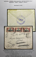 1922 British Occupation Early Airmail Cover To Dublin Ireland Forces HDQ