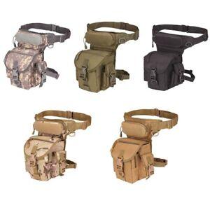 Sacoche de Ceinture et de Jambe Tactique Militaire 800D - 5 Coloris - Chasse