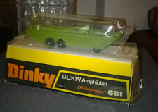 Dinky toys militaire Ref 681 dukw am  Neuf 30% remise dès 50 € d'achat
