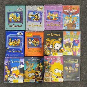 The Simpsons Complete Season 1 2 3 4 5 6 7 8 9 DVD Collector Box Set Lot Bundle