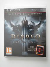 DIABLO 3 REAPER OF SOULS PS3 NUEVO SIN PRECINTO PAL ESPAÑA ULTIMATE EVIL EDITION