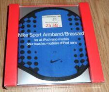 Nike Black & Blue Sport Armband For All Apple Ipod Nano's  NWT!