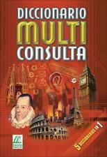 Diccionario multi consulta (Spanish Edition)