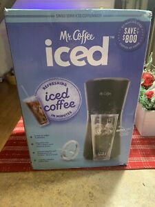 Mr. Coffee Iced Coffee Maker with Reusable Tumbler and Coffee Filter - Black