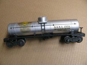 Lionel   # 2555 SUNOCO tank car  EX