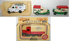 VEHICLES : 3 X PG TIPS & 1 X TYPHOO COMMERCIAL DIE CAST MODELS BY LLEDO (DT) 168