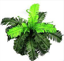 Artificial Silk Cycas Tree Plants Leaves Leaf Green Greenery Plants Faux
