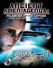 Ancient Alien Agenda: UFOs from the Area 51 Archives - EVIDENCE - 3 DVD Set!