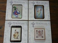 26 SEALED Mirabilia Cross Stitch Charts, most out of Print, You Chose.