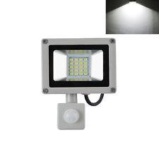 PIR 20W LED SMD Flood Light Motion Sensor Day White Garden Security Lamp Xmas UK