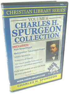 The Collected Works of C.H. Spurgeon, Vol. 6 -- 3500+ Sermons -- PC/Mac  (2008)