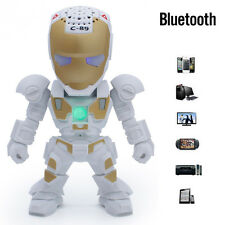 Wireless Bluetooth Speaker Robots Subwoofer Support TF Card for Phone PC