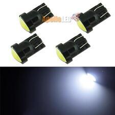 4pcs New T10 W5WB 2825 COB LED Bulb For Car License Plate Light 6000K HID White