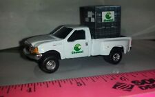 1/64 CUSTOM ERTL FARM TOY FORD F350 CHANNEL SEEDS PICKUP TRUCK W/ PROBOX OF SEED