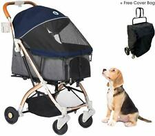 HPZ Pet Rover Lite Premium Light-Weight Dog/Cat/Pet Stroller *Midnight Blue*