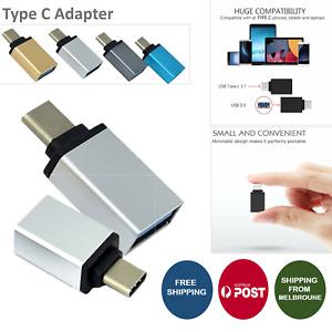 Premium USB 3.1 Type C Male to USB 3.0 A Female Converter USB-C Data OTG Adapter
