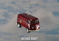 Matchbox 50th Volkswagen Panel Delivery Van Bus Custom Ornament VW 1/64 T2 T1