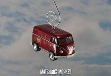 Matchbox 50th Volkswagen Panel Delivery Van Bus Custom Ornament VW 1/64 T2 T1