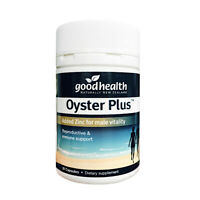 [Good Health] Oyster Plus With Zinc For Male Vitality 30 Capsules EXP 10/2022