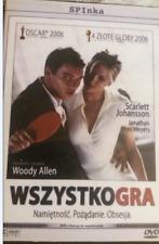 Wszystko Gra MATCH POINT DVD Woody Allen