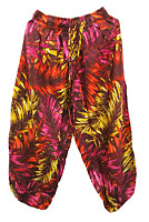 Hippie Boho Festival Harem Casual Trousers Pants Yoga Size 8 10 12 14