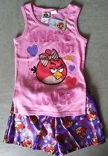 Brand New Girls Angry Birds Pyjamas - Size 8